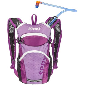 SOURCE Spry Hydration Pack 1,5L Kids, purple